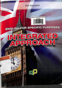 Image of English for specific purposes : integrated approach
